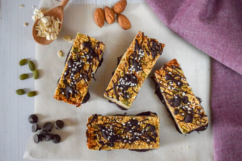 Tahini Chocolate Bars - 2